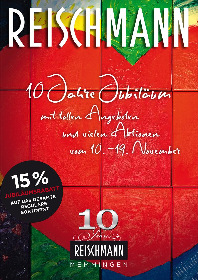 10 jahre reischmann in memmingen fashion magazin. Black Bedroom Furniture Sets. Home Design Ideas